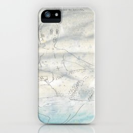 Remember to hydrate. iPhone Case