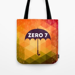 Zero 7 Poster - Sia Furler Mozez Jose Gonzalez Umbrella Print Rain Tote Bag