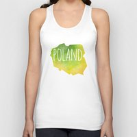 poland Tank Tops featuring Poland by Stephanie Wittenburg