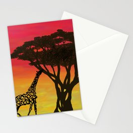Grabbing Lunch Stationery Cards