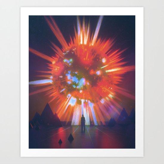 SUPERNOVA (everyday 03.07.17) Art Print