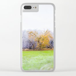 A BIT SOON Clear iPhone Case