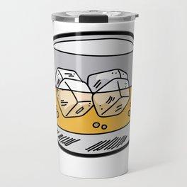 SOUP OF THE DAY Whiskey Liquor Bourbon Booze Travel Mug