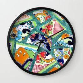 All the Colours of the Rainbow Wall Clock