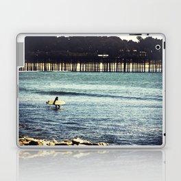 Longboard Pier Laptop & iPad Skin
