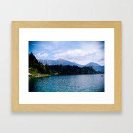 sLOVEnia  Framed Art Print