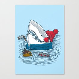 Great White North Shark Canvas Print