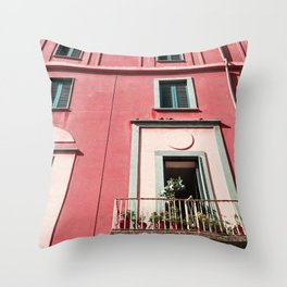 Summer House Throw Pillow