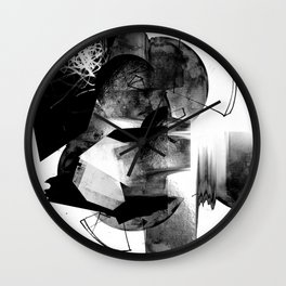 Moonscan Wall Clock