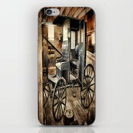 Vintage Horse Drawn Carriage iPhone Skin