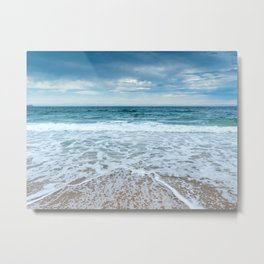 The Riptide and the Storm Metal Print