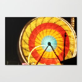 Wheel of light Canvas Print