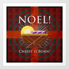 Noel! Art Print