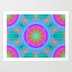 WOWPOWER Mandala Art Print