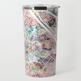 Vienna map Travel Mug