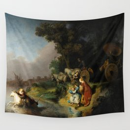 The Abduction of Europa by Rembrandt (1632) Wall Tapestry