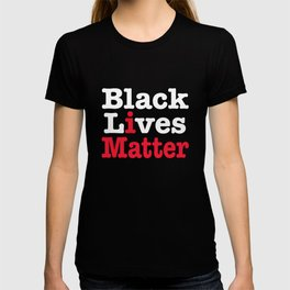 BLACK LIVES MATTER (inverse version) T-shirt