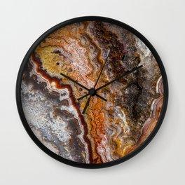 Flowing Colors Gem Wall Clock