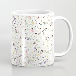Classy vintage marble terrazzo pastel abstract design Coffee Mug