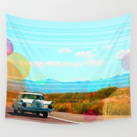 freedom Wall Tapestries featuring Freedom by Kakel-photography