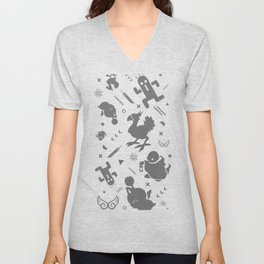 Final Fantasy Medley Unisex V-Neck