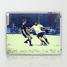 The Challenge - Soccer Players Laptop & iPad Skin
