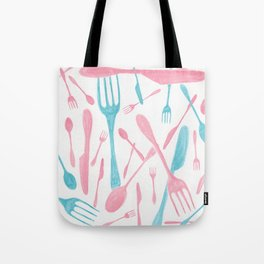 #71. FIONA (Forks & Knives) Tote Bag
