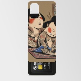 Japanese Tattoo  Android Card Case