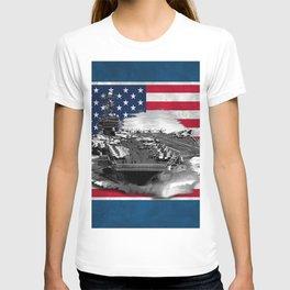 Nimitz Class Aircraft Carrier T-shirt