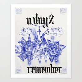 A Day 2 Remember Art Print