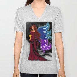 Chalice Fairy Unisex V-Neck