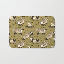 American Badgers Bath Mat