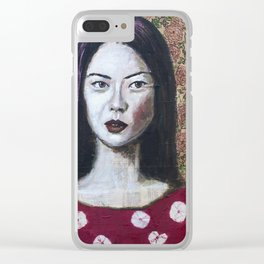 Asia Clear iPhone Case