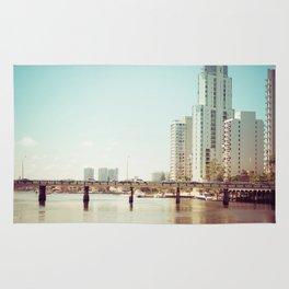 Nerang River Bridge Rug