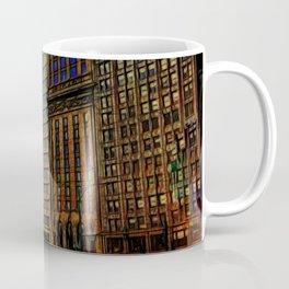 Michigan Avenue Chicago Coffee Mug