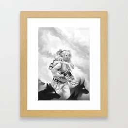 Lost in the Fire Framed Art Print