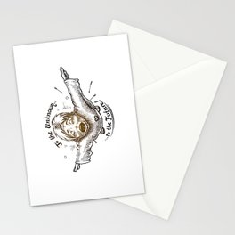 To The Unknown - To The Future Stationery Cards
