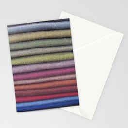 Fabric Rainbow Stationery Cards
