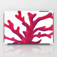 coral iPad Cases featuring Coral by Hayley Lang