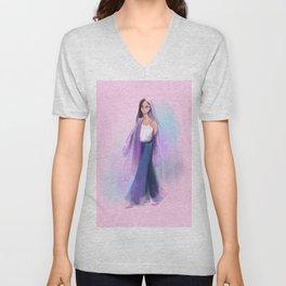 Fashion Sketch no 3 Unisex V-Neck