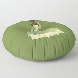 Tiana from Princess and the Frog Floor Pillow