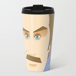 Will Ferrell as Ron Burgundy Travel Mug