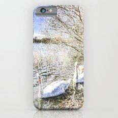 The Snow Swans Slim Case iPhone 6s