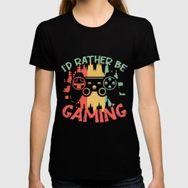 gamer video game play console PC T-shirt