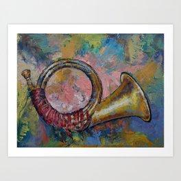 Hunting Horn Art Print