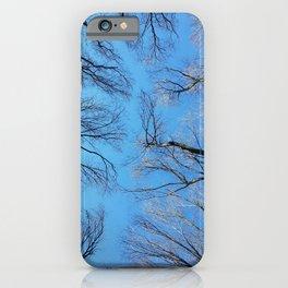 Tree lines iPhone Case