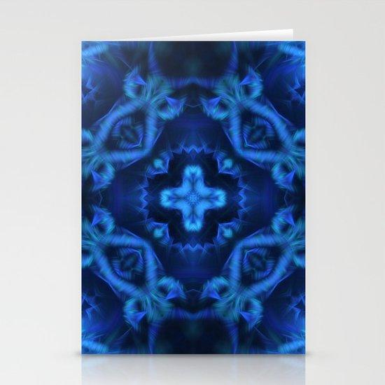 Blue Cross Stationery Cards
