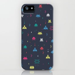 Space invader iPhone Case