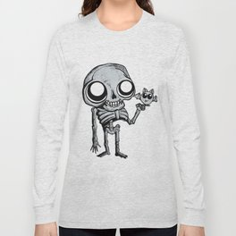 Skully & Desmodus rotundus Long Sleeve T-shirt