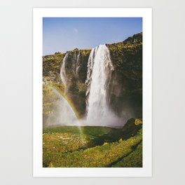Rainbow Waterfall II Art Print